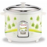 Butterfly JADE 1.8 Electric Rice Cooker(1.8 L, White, Green)