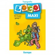 Maxi Loco Topografie Europa 9-12 jaar