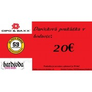 Darčeková poukážka 20€