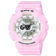 Casio Baby-g Analog-Digital White Dial Womens Watch-BA-110BE-4ADR (BX082)
