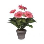 Floare artificiala, Gerbera, roz