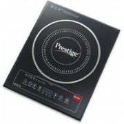 Prestige PIC 2.0 V2 2000-Watt Induction Cooktop with Touch Panel Induction Cooktop(Black, Push Button)
