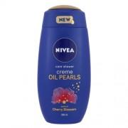 Nivea Creme Oil Pearls Shower Gel Cherry Blossom 250Ml Per Donna (Cosmetic)