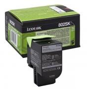 Lexmark 80C2SK0 - 802SK toner negro