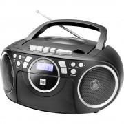 Dual P 70 CD radio ukw aux, cd, kaseta crna
