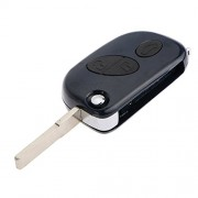 ELECTROPRIME 3 Button Keyless Remote Key Case Shell Folding for Maserati Gran Turismo