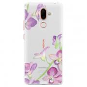 Plastové pouzdro iSaprio - Purple Orchid - Nokia 7 Plus
