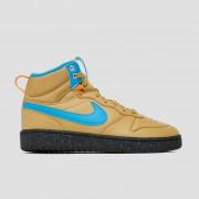 NIKE Court borough mid 2 sneakers bruin/blauw kinderen Kinderen - bruin/blauw - Size: 39