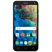 "Telefon Mobil Alcatel Pop 4, Procesor Quad-Core 1.1GHz, IPS LCD Capacitive touchscreen 5"", 1GB RAM, 8GB Flash, 8MP, Wi-Fi, 4G, Dual Sim, Android (Negru/Argintiu) + Cartela SIM Orange PrePay, 6 euro credit, 6 GB internet 4G, 2,000 minute nationale si inter"