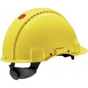 Cască de protecție Peltor Uvicator G3000, galbenă