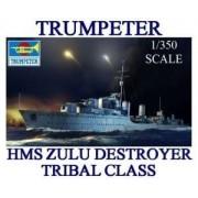 Trumpeter Modeledo poleca model okrętu HMS ZUlu do sklejania
