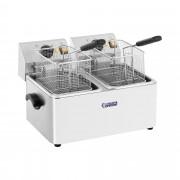 Freidora eléctrica - 2 x 8 litros - termostato EGO