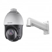 Camera supraveghere Speed Dome Hikvision TurboHD DS-2AE4215TI-D, 2 MP, IR 100 m, 5 - 75 mm, 15x + Suport