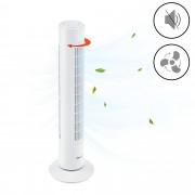 Вентилатор-кула3 [in.tec]®s, три степенен, осцилация, 50 W, Бял