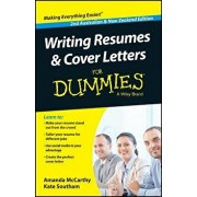 Writing Resumes and Cover Letters for Dummies - Australia / Nz, Paperback/Amanda McCarthy