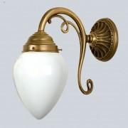 Paris elegant wall light made of brass