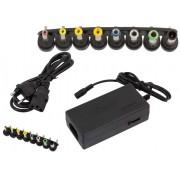 Adaptor universal cablu alimentare pentru laptop cu 8 capete diferite detasabile