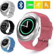 MAXIM Samsung Galaxy S6 Edge+ Compatible Ceritfied Y1 High Quality Touch Screen Bluetooth Smart Watch With Sim Card Slot