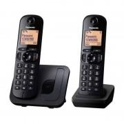 Telefon DECT Panasonic KX-TGC212FXB negru