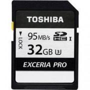 Toshiba Karta SDHC, 32 GB, Toshiba Exceria Pro N401 THN-N401S0320E4, Class 10, UHS-I, UHS-Class 3