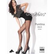 Gabriella - Subtle patterned tights Puntina Due, 20 den
