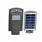 Proiector Stradal, 20 W, Panou Solar, Senzor De Lumina