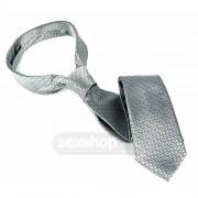 FSoG Christian Grey Silver Tie