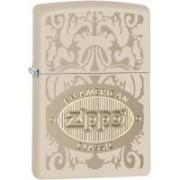 Zippo Classic American Cream Matte Locking Carabiner(Yellow)