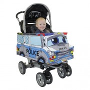 Stroller Costumes Police Car Stroller Costume Turns Stroller Into A Ride On Baby/Toddler Car Toy