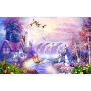 Fototapet Decorativ Creative Decor Dream Mountain Water Waterfall Cerneala Ecologica 200 x 300 cm