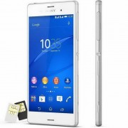 Sony Xperia Z3 dual del telefono movil D6633-White