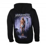 felpa con capuccio uomo Megadeth - COUNTDOWN TO EXTINCTION - PLASTIC HEAD - RTMGD052
