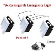 Dawn 12W Emergency Light 786 Multicolour - Pack of 3