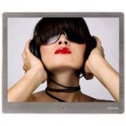 Цифрова фото рамка HAMA 97SLB 118561, 9.7 инча, Slim Steel, алуминиева рамка, HAMA-118561