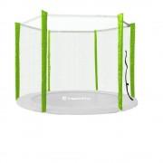 Plasa siguranta inSPORTline Froggy 305 cm pentru 6 stalpi, verde