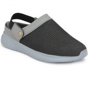 BUCIK GREY FLY-KNIT CROCS