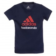 Camiseta Taekwondo Shade-Azul