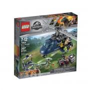 LEGO JURASSIC WORLD La poursuite en hélicoptère de Blue - 75928