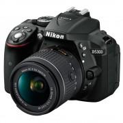 Nikon D5300 Aparat Foto DSLR 24.2MP CMOS Kit cu Obiectiv AF-P 18-55mm VR Negru