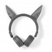 Nedis HPWD4000GY Willy Wolf vezetékes fejhallgató