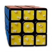engree Custom 3x3 Speed Cube para niños Mejores Juguetes de Entrenamiento Cerebral 3x3x3 Retro Cartoon Fashion Creative Popcorn 3D Puzzle Toy Party Game para niños niñas niños pequeños-55mm