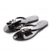【SALE 48%OFF】メリッサ melissa HARMONIC XIII (BLACK GLITTER) レディース
