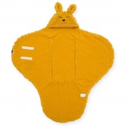 Jollein Baby Wrap Blanket Bunny Mustard