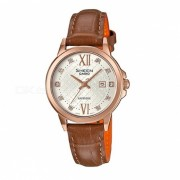 reloj de linea de crucero casio SHE-4525PGL-7A - marron