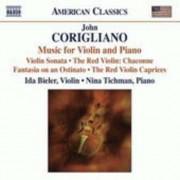 J. Corigliano - Music For Violin & Piano (0636943930625) (1 CD)