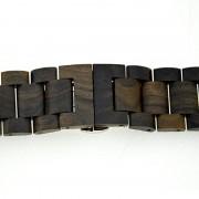 Apple Bamboo Wood Watch Band - Black SandalWood
