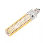 E11 LED-maïslampen T 136 SMD 5730 1200-1400 lm Warm wit Koel wit 2800-3200/6000-6500 K Dimbaar Decoratief V