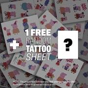 Garden House Construction Set: Peppa Pig Mini-Figure Playset + 1 FREE Official Peppa Pig Mini-Tattoo Sheet Bundle...