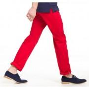 Asquith & Fox Rode casual pantalon voor heren 34-32 - Chino broeken