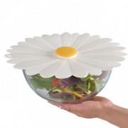 Daisy Tech couvercle silicone 28cm daisy blanc